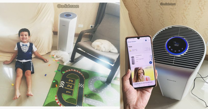 Phillips Air Purifier Connected รุ่น AC3854