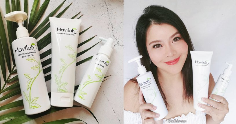 Havilah Fresh Herbal Shampoo Anti-Hair Fall